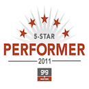 GigMasters - 2011 Five Star Performer